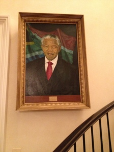 Portrait at the Ambassador's Residence